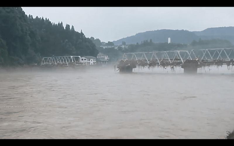 人吉市豪雨災害、球磨川氾濫